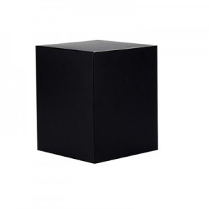 Large Candle Box No Window (Black)