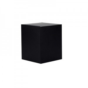 Medium Candle Box No Window (Black)