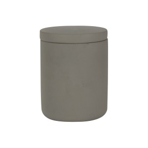 Concrete XL Curved Base Light Grey