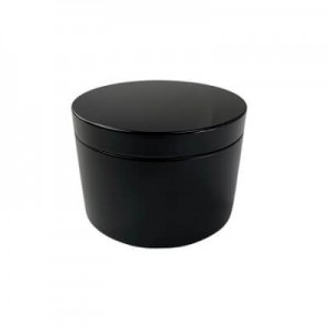 Large Black Tin