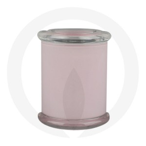 Danube Large Base and Flat Lid Pink (Packed with lid on)