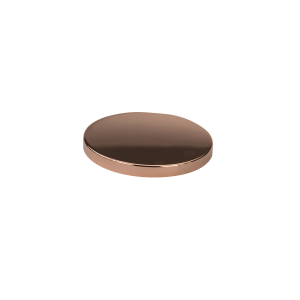 Small Metal Lid Rose Gold