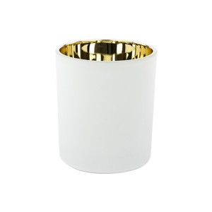 Oxford Large Base Electroplated Gold & White