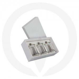 Danube Small Knob Lid Trio Pack - White