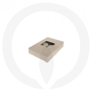 19mm Tealight Box - 6 Pack (Beige)