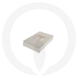 19mm Tealight Box - PVC - 6 Pack (White)