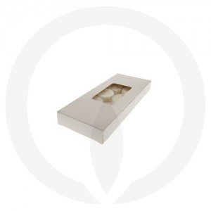 19mm Tealight Box - 10 Pack (White)