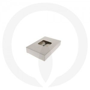 19mm Tealight Box - 6 Pack (White)