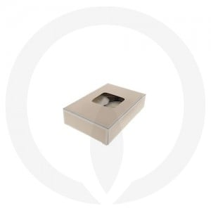 25mm Tealight Box - 6 Pack (Beige)