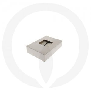 25mm Tealight Box - 6 Pack (White)