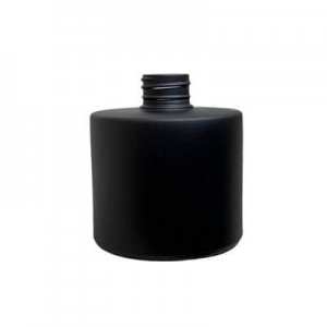 Diffuser Glassware - Round Screw Top - Matt black