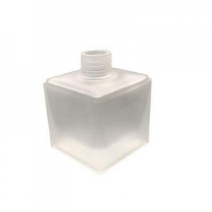 Diffuser Glassware - Cubic Screw Top - Frosted