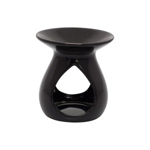 Tear Drop Oil Burner (Gloss Black)