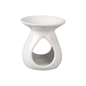Tear Drop Oil Burner (Gloss White)