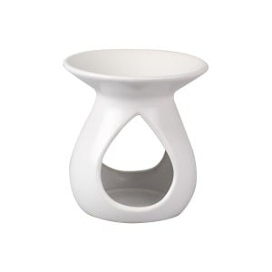Tear Drop Oil Burner (Matt White)