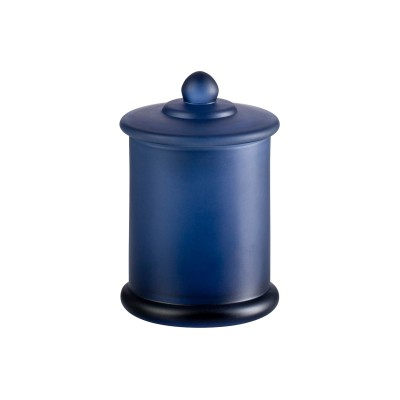 Danube Large Base and Knob Lid Frosted Navy