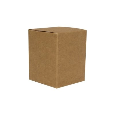 Medium Candle Box No Window (Kraft Brown)