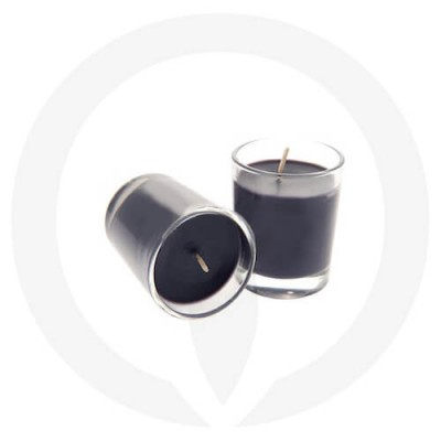 Black coloured candles