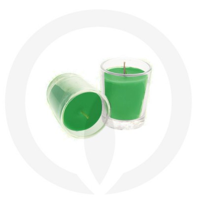 Forest Green coloured candles