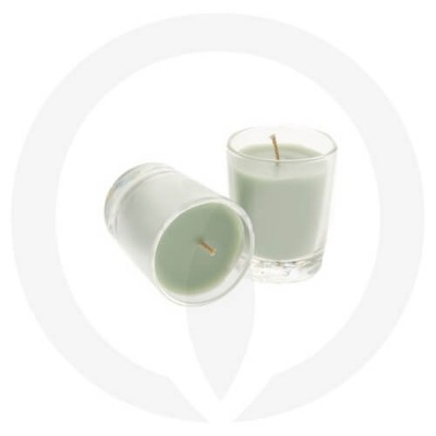 Sage Green coloured candles