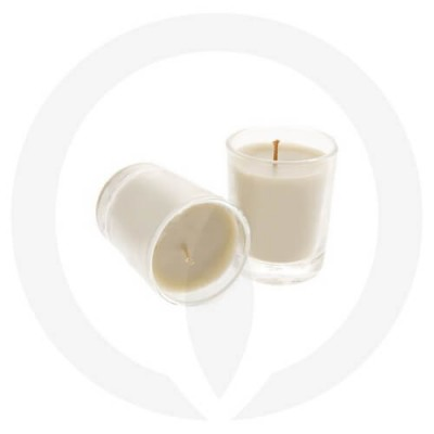 Sand coloured candles