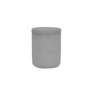 Concrete Medium Curved Base Grey Cement