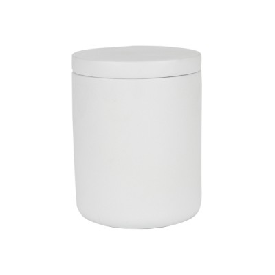 Concrete XL Curved Base White