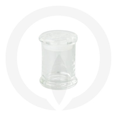 Danube Small Base and Flat Lid Clear (Packed with lid on)