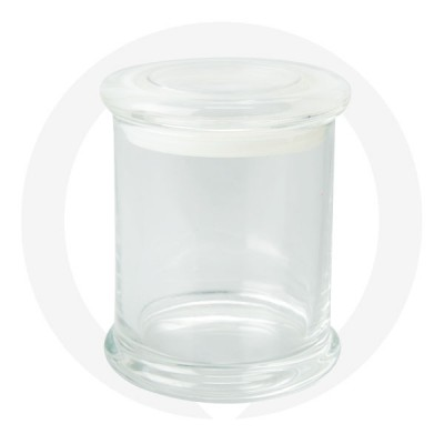 Danube XL Base and Flat Lid Clear (Packed with Lid on)