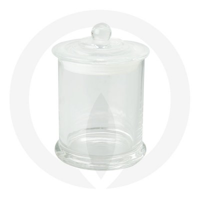 Danube Large Base and Knob Lid Clear (Packed with Lid on)