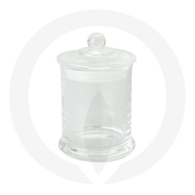 Danube Medium Base and Knob Lid Clear (Packed with lid on)