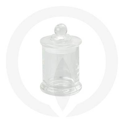 Danube Small Base and Knob Lid Clear (Packed with lid on)