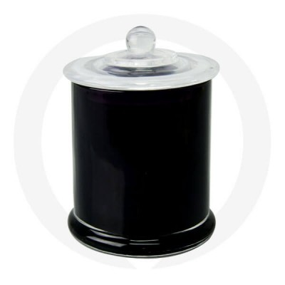 Danube XL Base and Knob Lid Opaque Black (Packed with Lid on)