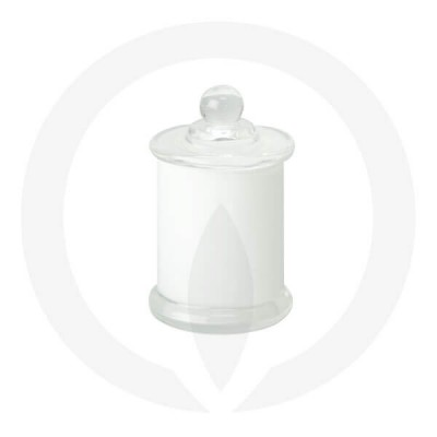 Danube Small Base and Knob Lid Opaque White (Packed with lid on)