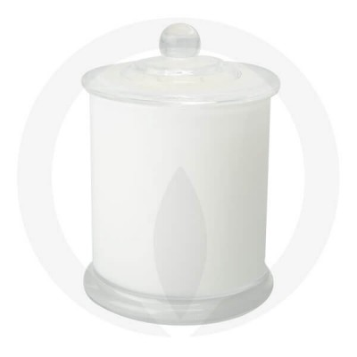 Danube XL Base and Knob Lid Opaque White (Packed with Lid on)