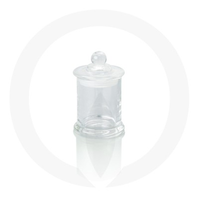 Danube Small Base in clear with knob lid
