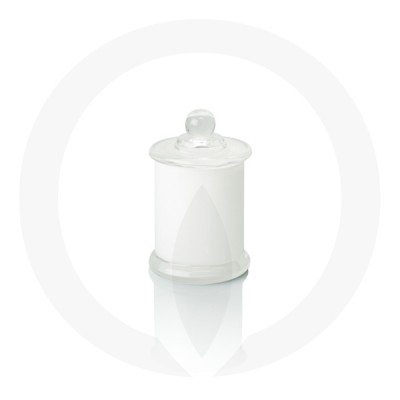 Danube small base with knob lid in clear