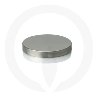 Oxford XL Metal Lid Stainless Mirror Finish