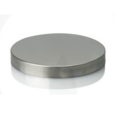 XXL Metal Lid Stainless Mirror Finish