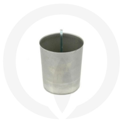 Votive Wick Pin shown in a candle mould