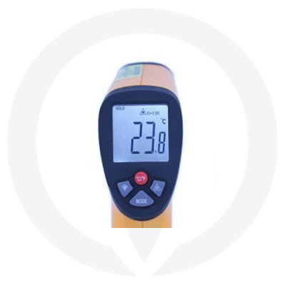 Infrared Thermometer showing reading