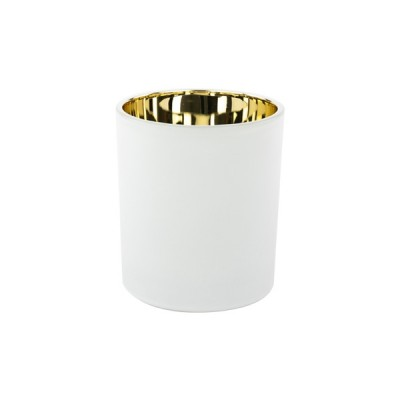 Oxford Medium Base Electroplated Gold & White
