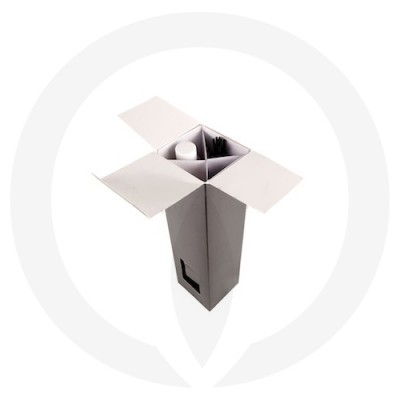 Open Cubic Diffuser Box (Black)