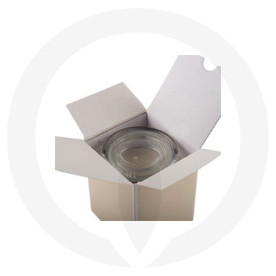Open Danube Small Flat Lid Candle Box No Window (Beige)