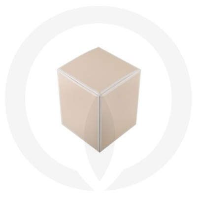 Danube Small Flat Lid Candle Box No Window (Beige)