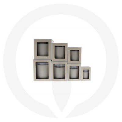Danube Candle Box with Window (Beige) in different sizes