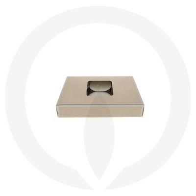 19mm Tealight Box - 6 Pack (Beige) side view