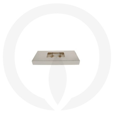 19mm Tealight Box - 10 Pack (White) side view