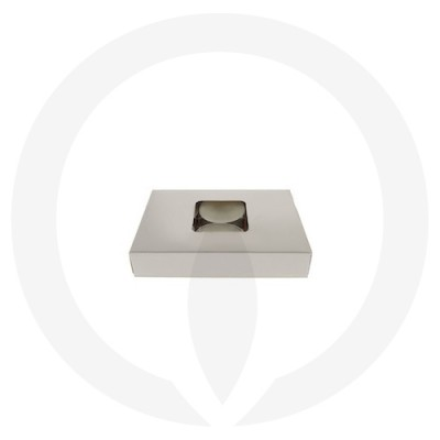 19mm Tealight Box - 6 Pack (White) side view