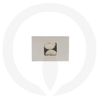 19mm Tealight Box - 6 Pack (White) top view